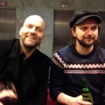 David och Tim efterfest