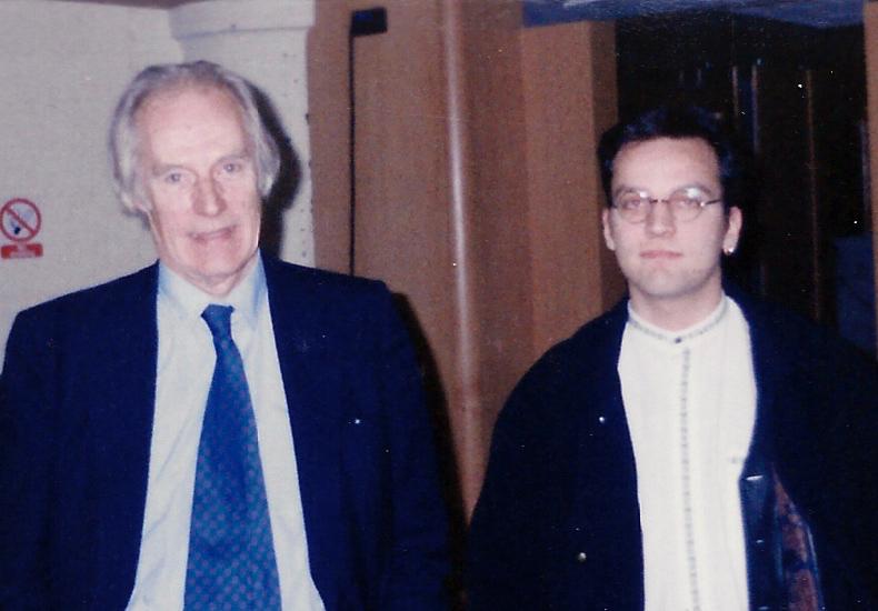 George Martin och David Myhr