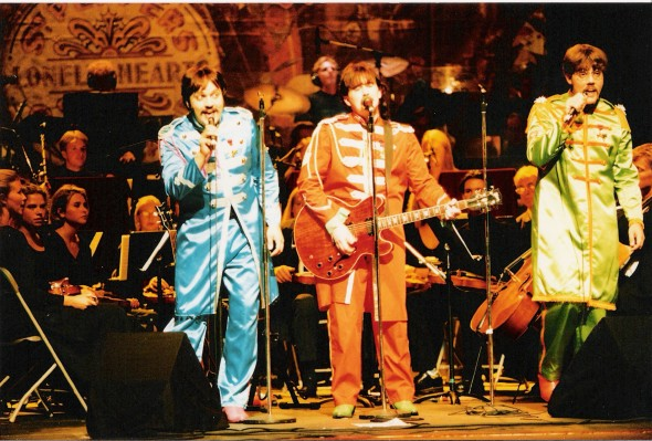 The Merrymakers Sgt Pepper Live