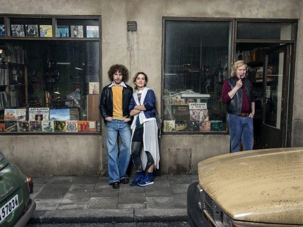 Elias Palin (som Svante), Victoria Dyrstad (som Elsa), Henrik Dorsin (som Bengan) Stillbildsfoto: Johan Bergmark